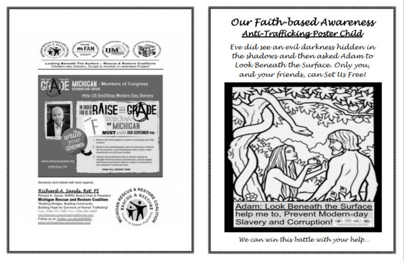 Anti-Trafficking Poster Child: A Faith-based Coloring Book - DCF ...